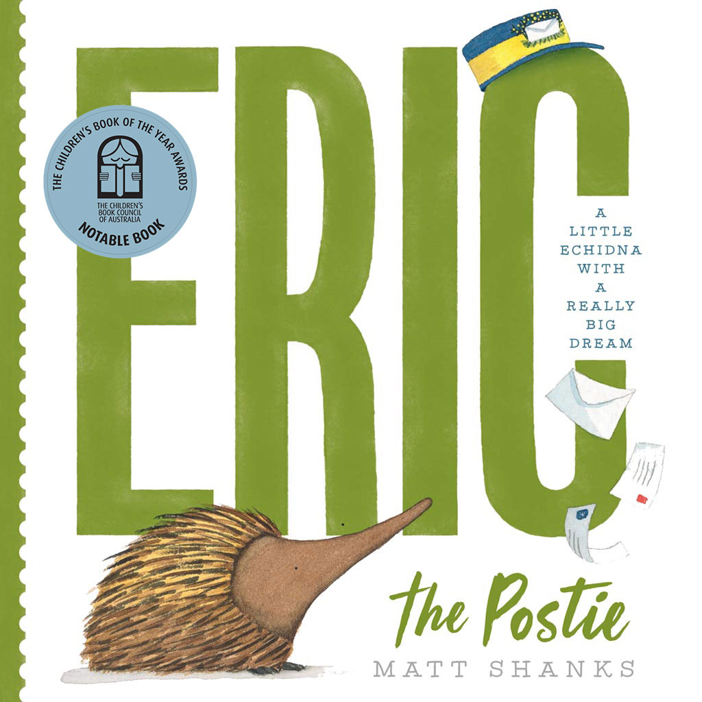 Eric the Postie, Matt Shanks, Scholastic Australia